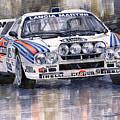 Lancia 037 Martini Rally 1983 by Yuriy  Shevchuk