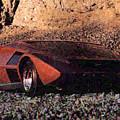 Lancia Stratos Zero by Lora Battle