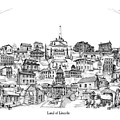 Land Of Lincoln by Dennis Bivens
