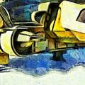 Landed Imperial Shuttle - Da by Leonardo Digenio