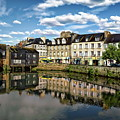 Landerneau Village View by Anthony Dezenzio