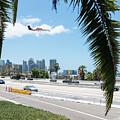 Landing In San Diego by Robert VanDerWal