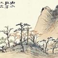 Landscape Album by Zhang Daqian