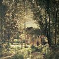 Landscape by Charles Francois Daubigny