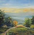 Landscape From Croatia by Raija Merila
