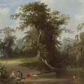 Landscape by George Caleb Bingham