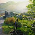Landscape In Wales by Harry Robertson