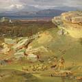 Landscape Near Corinth by Carl Rottmann