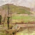 Landscape Near Pont Aven by Paul Gauguin