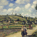 Landscape Near Pontoise by Camille Pissarro