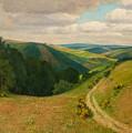 Landscape Near Schleiden In The Eifel by Wille