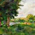 Landscape by Paul Cezanne