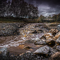 Landscape River And Bridge II by Peter Hayward Photographer