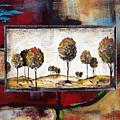 Landscape Vignettes-3 by Jean Plout