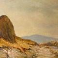 Landscape With A Hayrick by Tigran Ghulyan