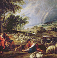 Landscape With A Rainbow by Rubens