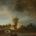 Landscape With A Stone Bridge by Rembrandt
