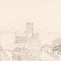 Landscape With Church by Follower Of John Sell Cotman
