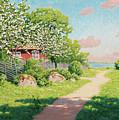 Landscape With Fruit Trees by Johan Krouthen