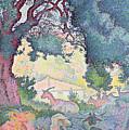 Landscape With Goats by Henri-Edmond Cross