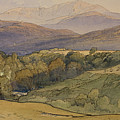 landscape with Lochnagar in the distance by William Leighton