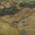 Landscape With Rabbits Saint Remy De Provence December 1889 Vincent Van Gogh 1853  1890 by Artistic Panda