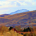 Landscape Wyoming State  by Chuck Kuhn