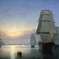 Lane: Boston Harbor by Granger