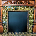 Lane-hooven House Antique Fireplace by Phyllis Taylor