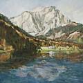 Langbathsee Austria by Alexandra Maria Ethlyn Cheshire