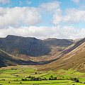 Langdale Fell And Pikes Panorama by Joseph Clemson