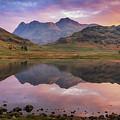 Langdale Pikes At Sunrise by James Billings