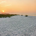 Langdon Beach Sunrise 5 - Pensacola Beach Florida by Brian Harig