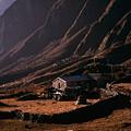 Langtang Village by Patrick Klauss