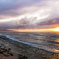 Laniakea Beach Sunset by Daryl L Hunter
