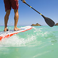 Lanikai Stand Up Paddling by Dana Edmunds - Printscapes