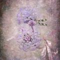 Lantana In Purple by Betty LaRue