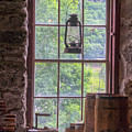 Lantern And Window by Tom Singleton