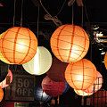 Lanterns 50 Percent Off by Jan Amiss Photography