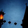 Lanterns- Art By Linda Woods by Linda Woods