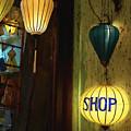 Lanterns At A Gift Shop Entrance by Skip Nall