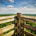 Lapham Peak Wisconsin - View From Wooden Observation Tower by Jennifer Rondinelli Reilly - Fine Art Photography