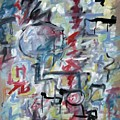 Large Abstract No 1 by Michael Henderson