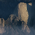 Large Granite Mountains In California by Charles Wollertz