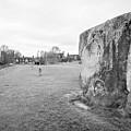 Large Sarsen Stone Part Of The Outer Ring Stone Circle Avebury Stone Circles Wiltshire England Uk by Joe Fox