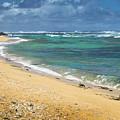 Larsons Beach Kauai by Frank Wilson