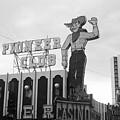 Las Vegas 1980 Bw #13 by Frank Romeo