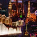 Las Vegas Collage by Eduardo Tavares