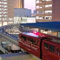 Las Vegas Monorail by Arlane Crump