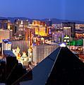 Las Vegas Pano by Brian Jannsen